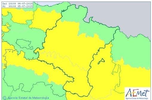 Vuelve el calor: Navarra está hoy en aviso amarillo