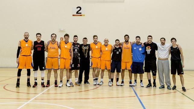 Participantes en la edición del torno de 2017.