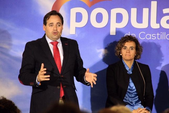 Núñez pide concentrar el voto para un Gobierno