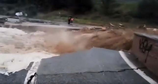Un muerto en las grandes inundaciones en Navarra