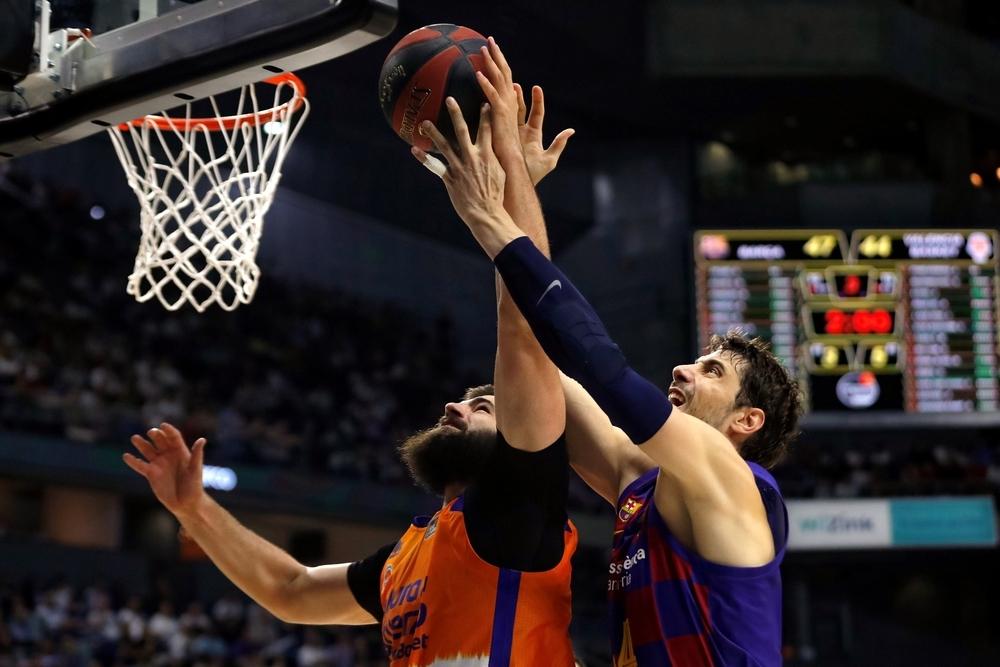 El Barça se impone ante el Valencia Basket