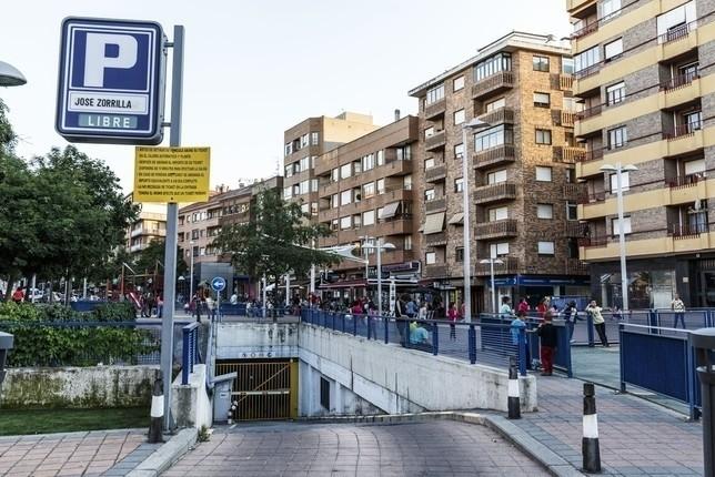La apertura del parking de José Zorrilla, más cerca