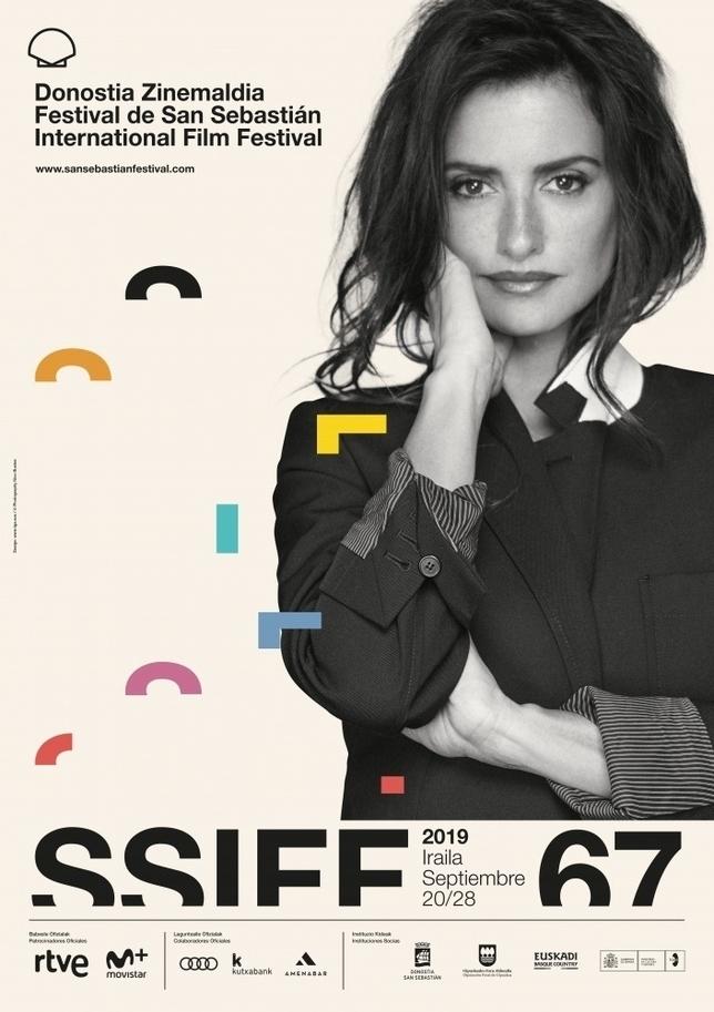 Cartel del 67 Festival de Cine de San Sebastián. TGA