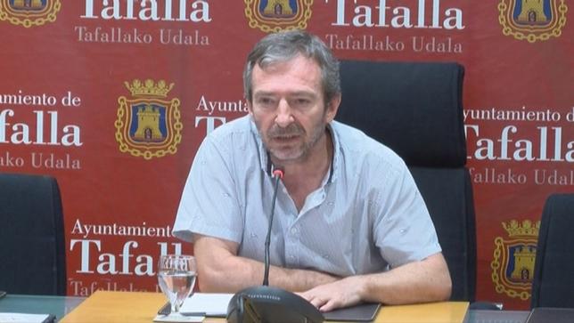Jesús Arrizubieta, alcalde de Tafalla NATV