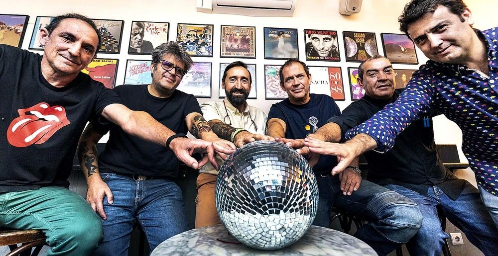 José Arranz (Bar Santana), Juanfran Martín (Shout), Javier García Crespo (Indian), Ernesto del Bosque (Abraxas y Ven Ven), José Gabriel Cobos (Sabbat) y Gustavo Gómez (Menorá).