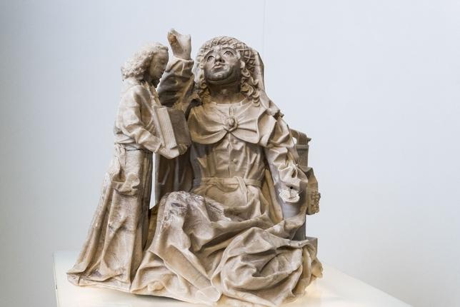 San Mateo de Gil de Siloé, procedente del sepulcro de los padres de Isabel la Católica en la Cartuja de Miraflores.  Alberto Rodrigo