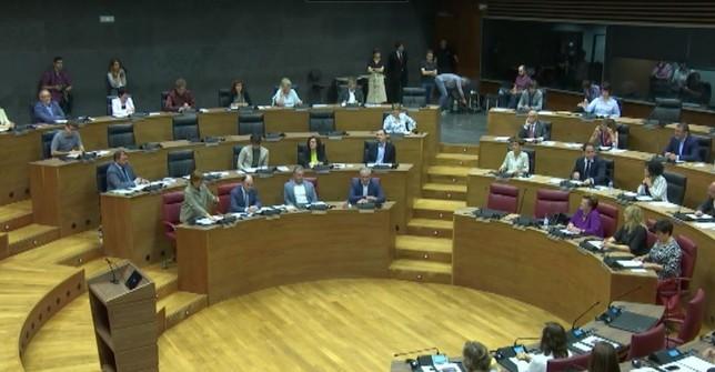 EH Bildu consigue estar presente en la Mesa del Parlamento