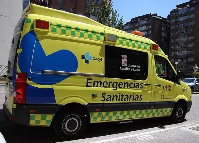 Dos jóvenes heridos tras una colisión en Aldeamayor