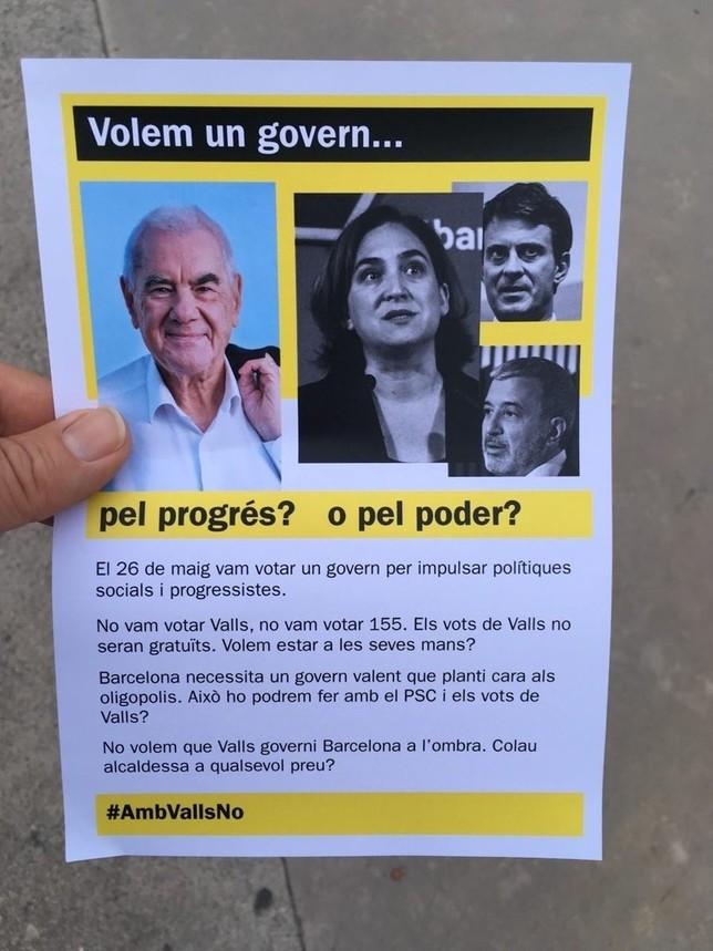 Maragall propone a Colau repartir los años de alcaldía TWITTER BARCELONA EN COMÁš