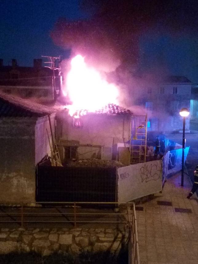 Incendio sin heridos en la Ventilla