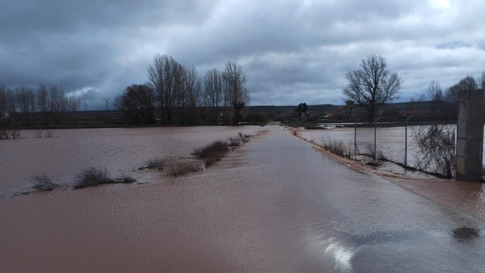 El río Brullés, a la altura de Villegas.