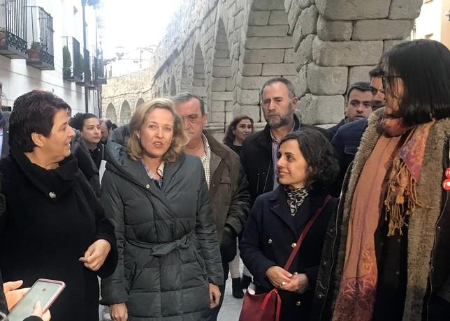 La ministra Calviño llama a las urnas
