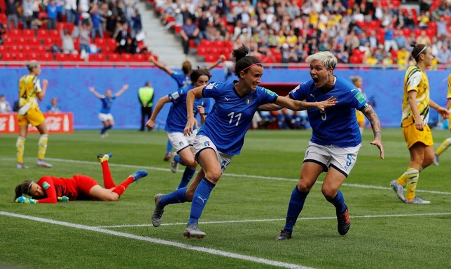 Italia se impone a Australia en el último momento PHIL NOBLE