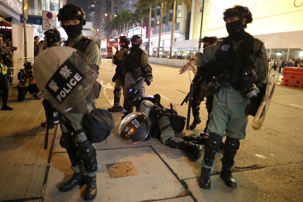 Vuelven los enfrentamientos a las calles de Hong Kong