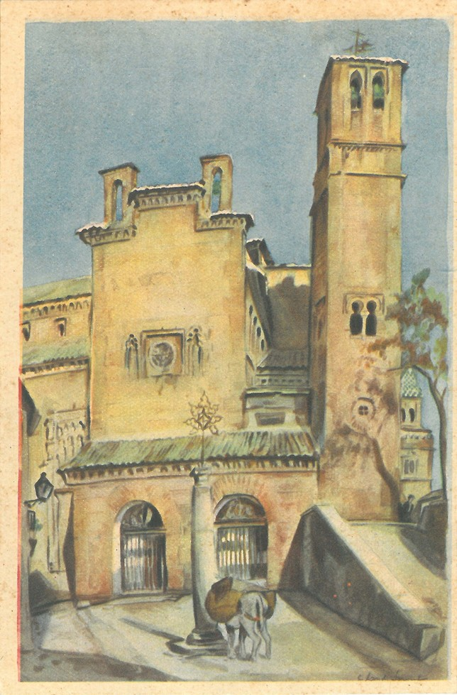 El Toledo de hace un siglo en las acuarelas de Landi Sorondo