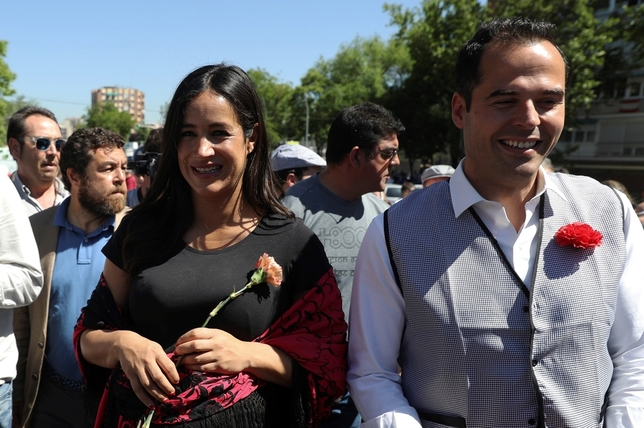Candidatos de Ciudadanos en la Pradera de San Isidro. J.J. Guillén