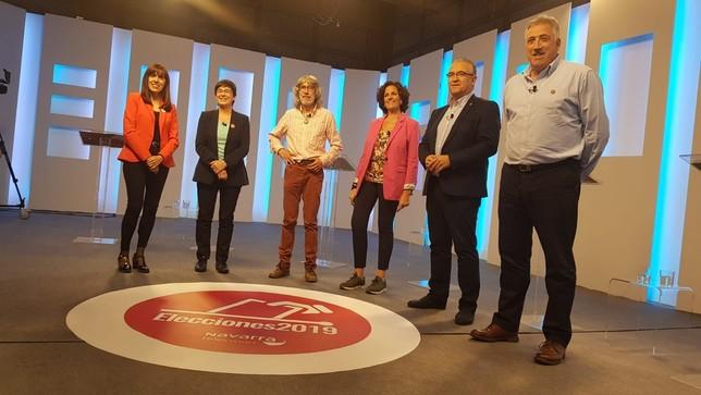Debate de bloques con dos visiones contrapuestas de Pamplona