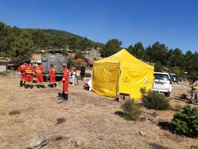 El incendio en el Valle de Iruelas cerca de estar controlado
