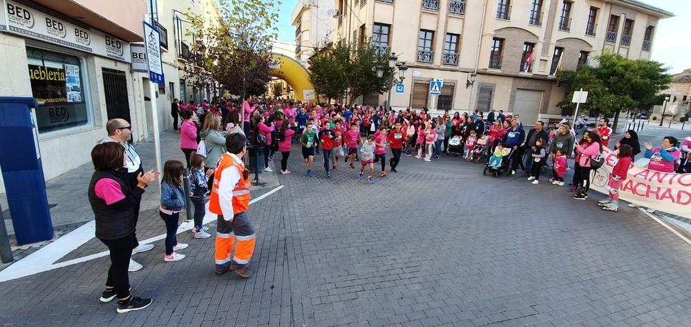 Marea rosa en Miguel Esteban y Quintanar
