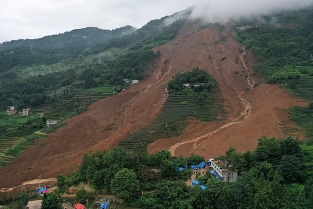 Al menos 15 muertos por un corrimiento de tierra en China | Todas ...