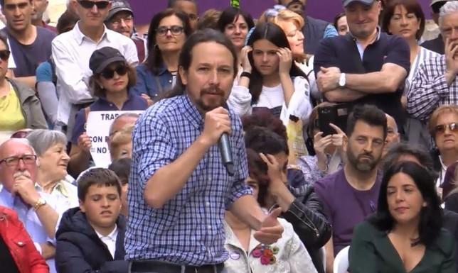 """Iglesias quiere """"cambiar muchas cosas"""" gobernando en Navarra"""