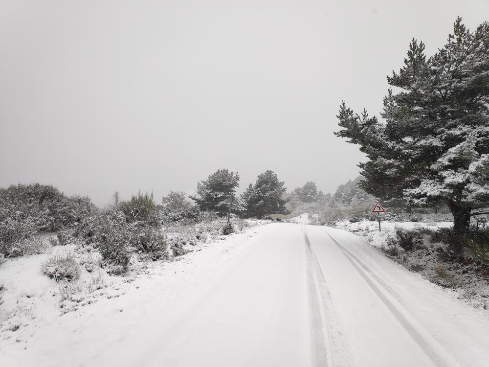 Problemas con la nieve en todo el norte provincial