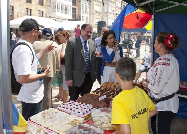 Visita del consejero de la Embajada de Paraguay a Aguilar