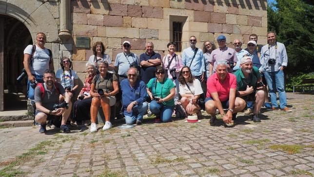Ochenta personas disfrutan del románico con la FSMR