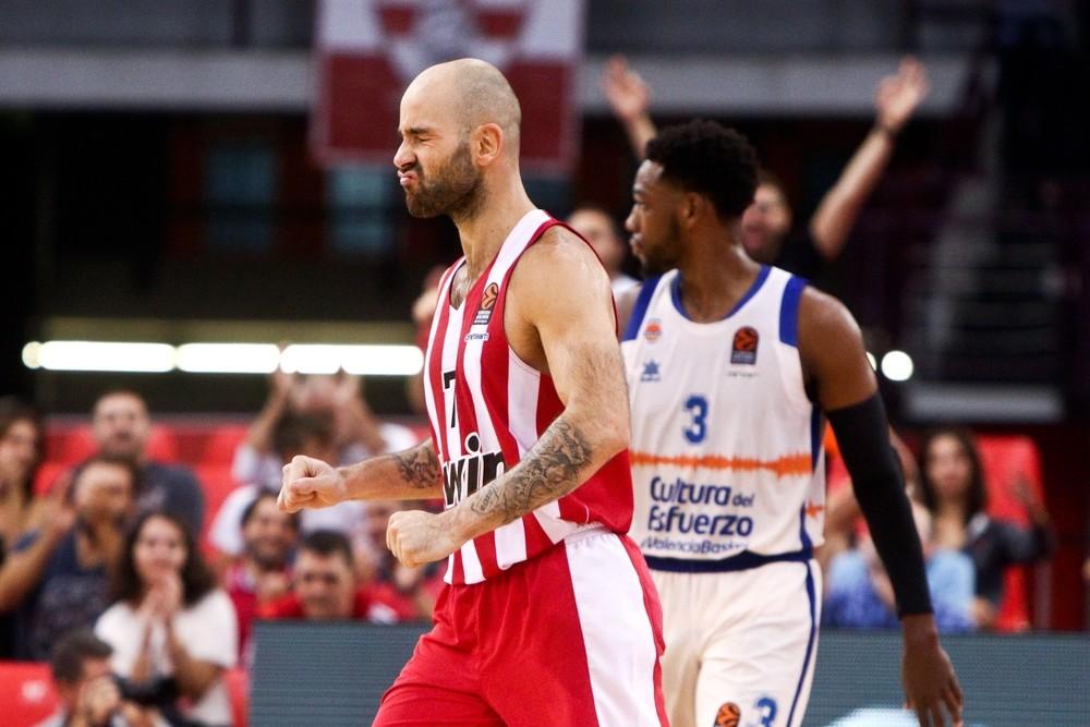 El Valencia Basket no puede con el Olympiacos