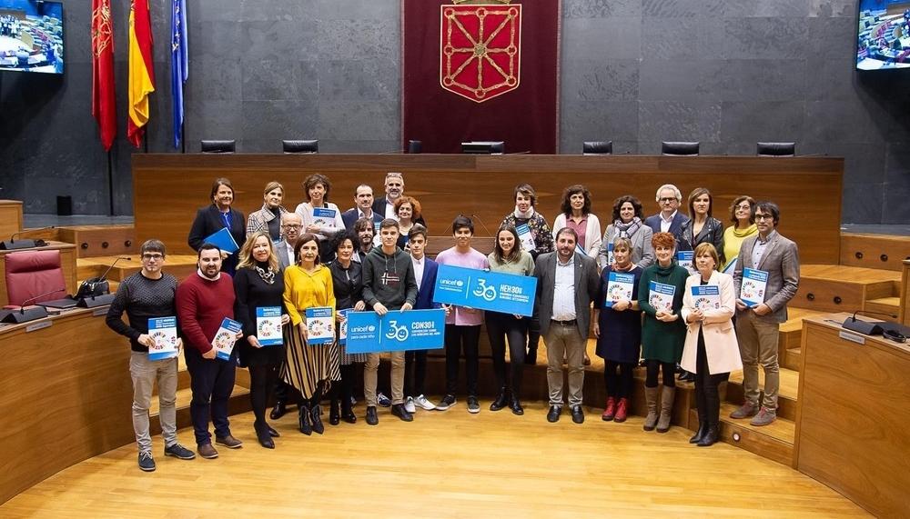 La Convención de los Derechos de la Infancia celebra 30 años