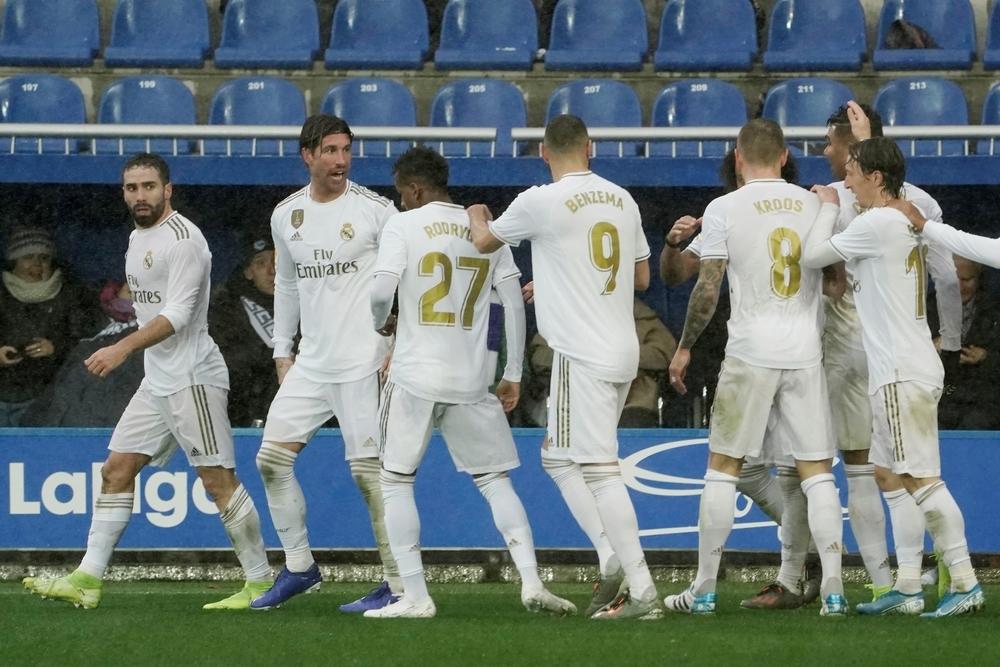 El Madrid asalta Mendizorroza