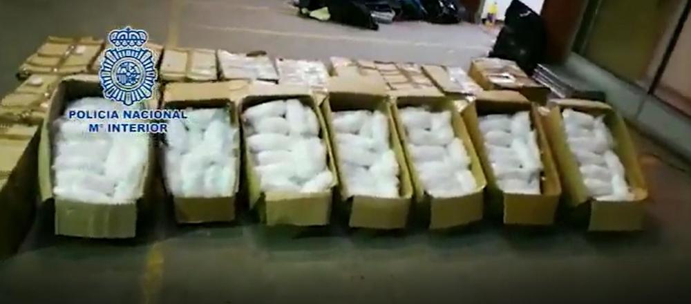 La Policía incauta en Badalona 631 kilos de metanfetamina