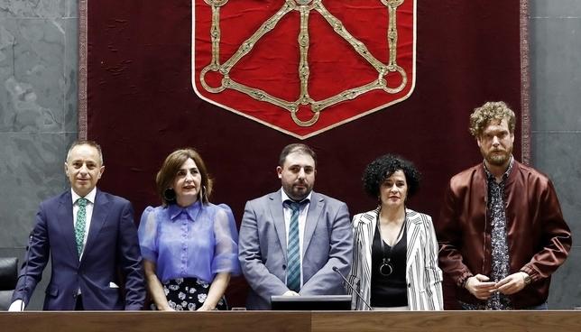 Geroa Bai preside el Parlamento y EH Bildu estará en la Mesa