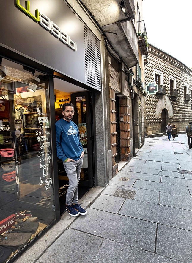 Cesar Gigosos, a las puertas de Wasabi.