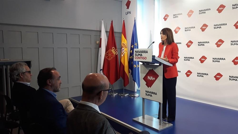 Navarra Suma presentará tres enmiendas a la totalidad