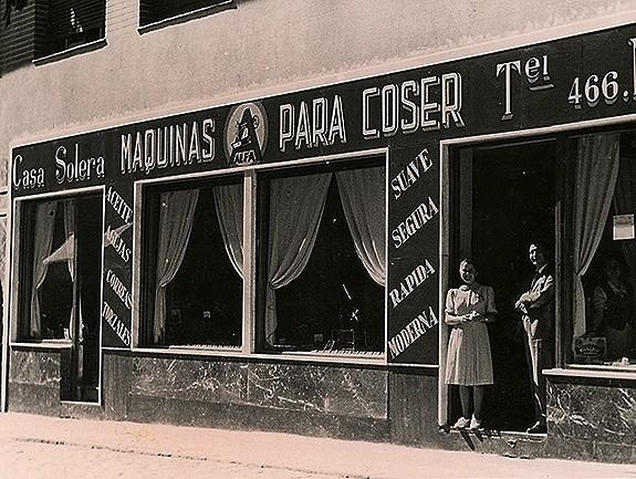 El local que ocupó Casa Solera es hoy la cafetería Granier.