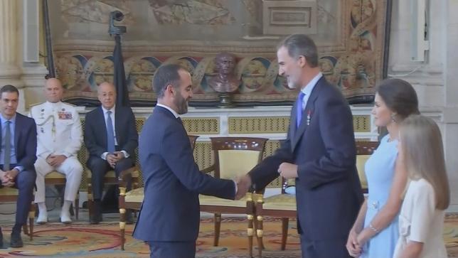 La labor de un profesor de Tudela, galardonada por Felipe VI EFE