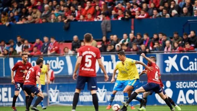 La victoria frente a Las Palmas es la decimosexta consecutiva en El Sadar LaLiga