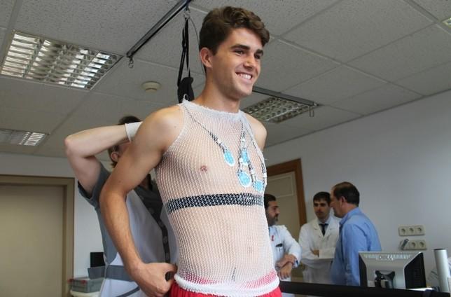 Los canteranos estrenan las pruebas médicas en Osasuna