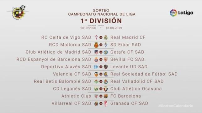 Osasuna debutará en Primera División en Leganés