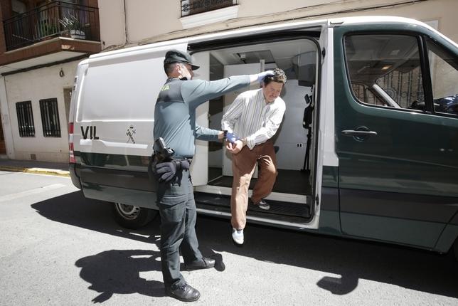 Prisión sin fianza para el parricida de Socuéllamos Fotos Rueda Villaverde