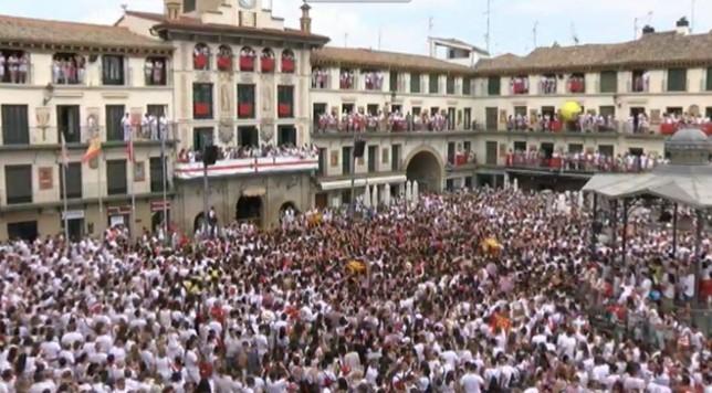 Noticias 1, hoy desde Tudela por el inicio de las fiestas