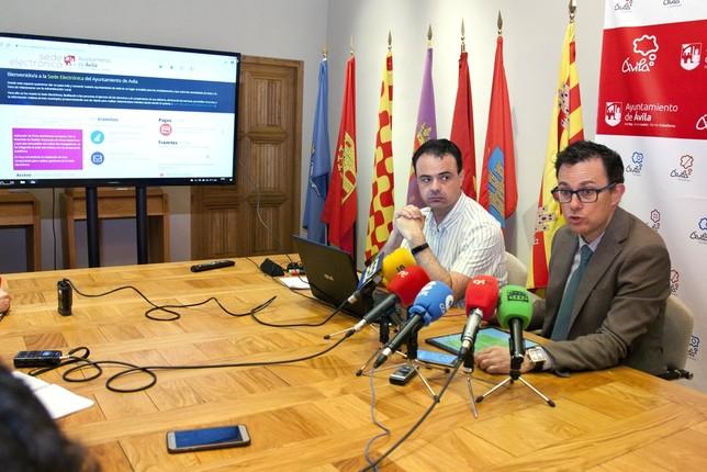 La sede electrónica ha supuesto un ahorro de 70.000 euros Ana I. RamÁrez