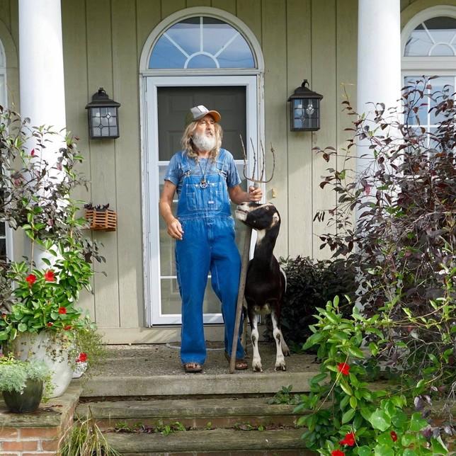 Segoviano, hippie, panadero y pastor de ovejas en Ohio