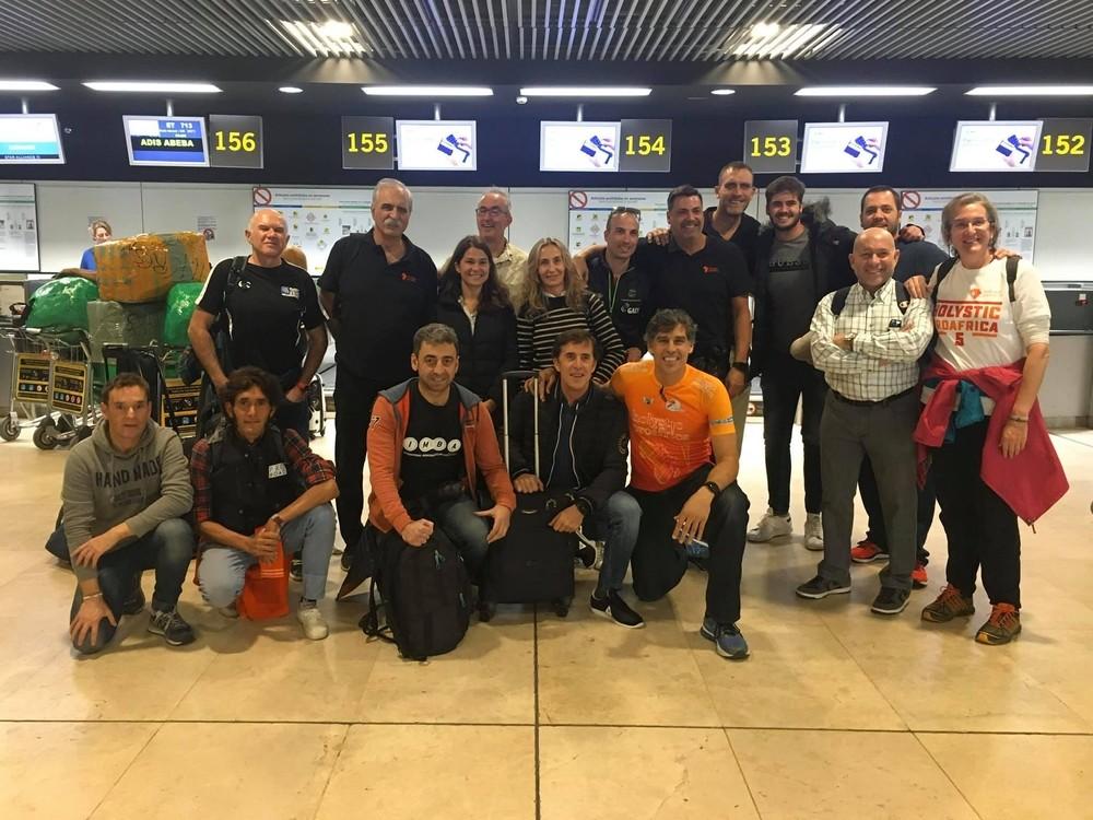 Pedro Delgado apadrina el proyecto 'Pedales por África'