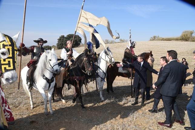 'Puy du Fou' echa a andar con una simbólica primera piedra
