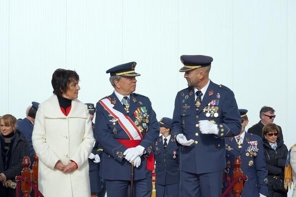 El Ejército del Aire rinde homenaje a su patrona
