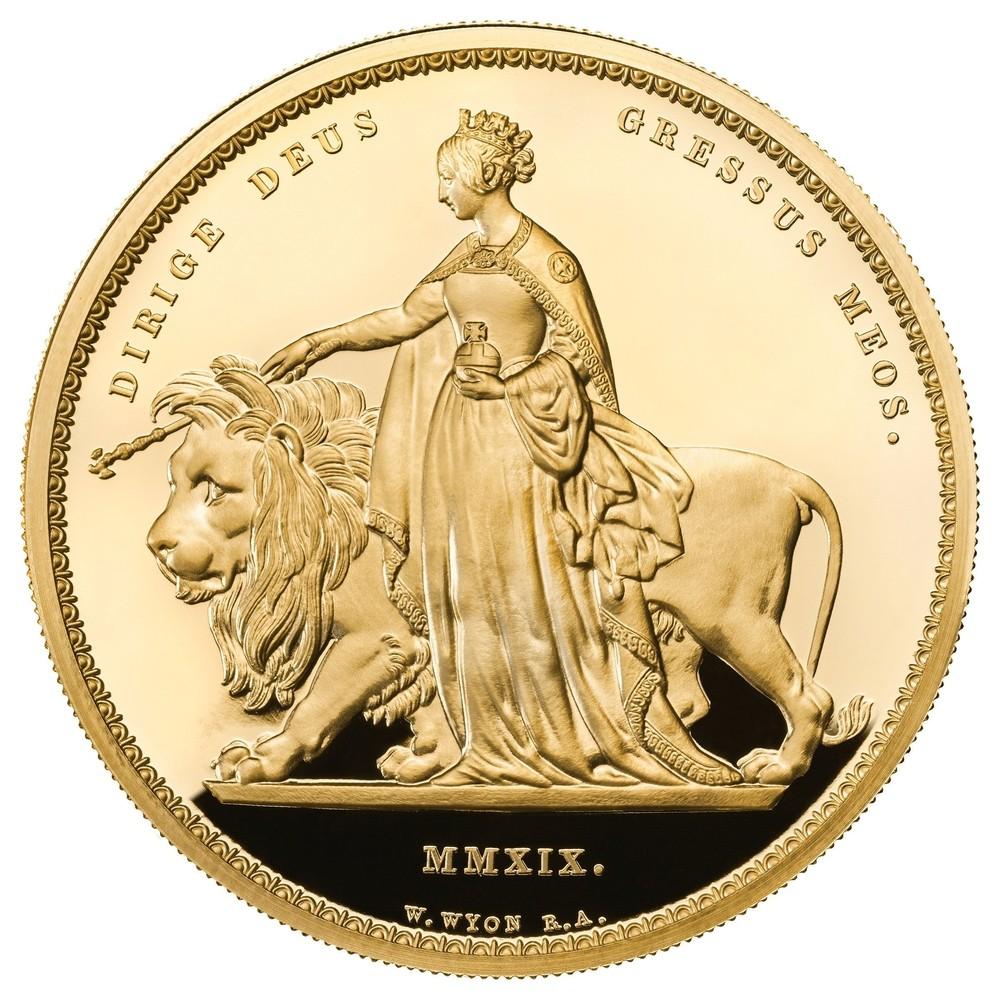El Reino Unido acuña la mayor moneda del mundo