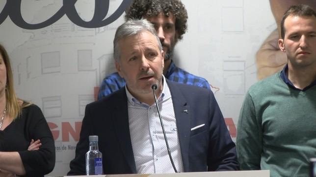 Bariáin se ha dirigido a los presentes durante el Congreso NATV