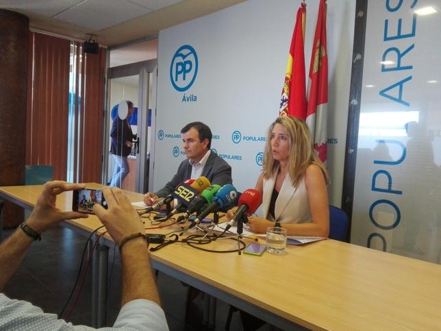 El PP pide declarar de emergencias las obras de las Cogotas